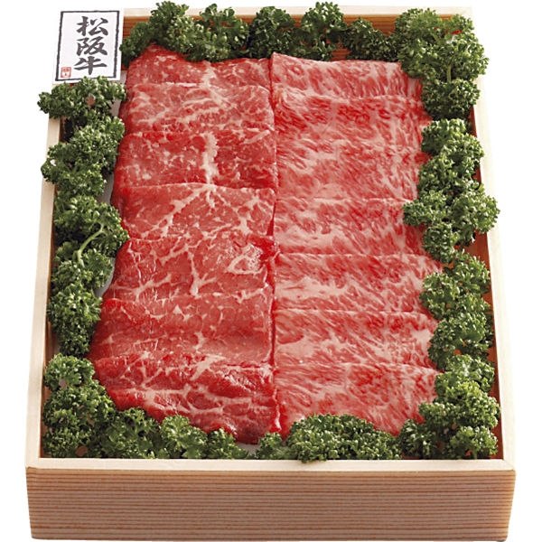 松阪牛 焼肉カルビ400g産直