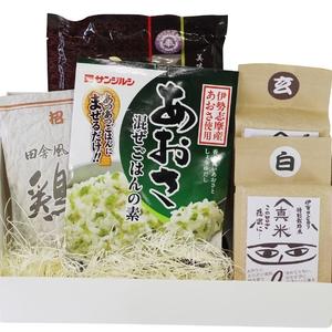 【71】伊賀米と炊き込み、混ぜご飯セット常温店頭発送