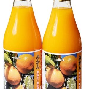 【42】かきうち農園の100%みかんジュース 常温直送