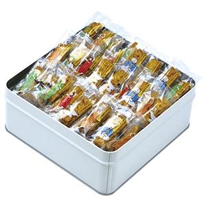 【49】カレーのおせんべい 缶入 常温直送